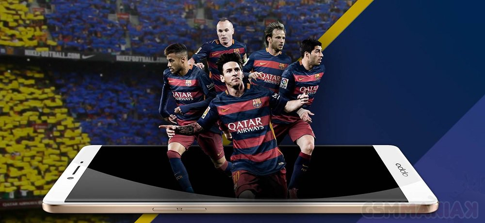 Oppo R7 Plus FC Barcelona Edition /fot. producent