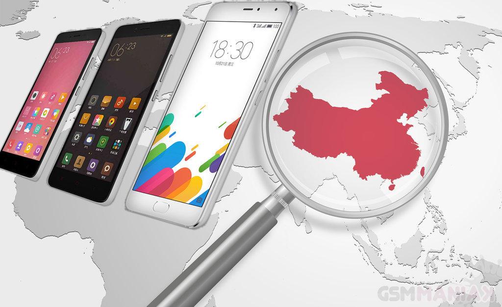 Najlepsze telefony z Chin 2015