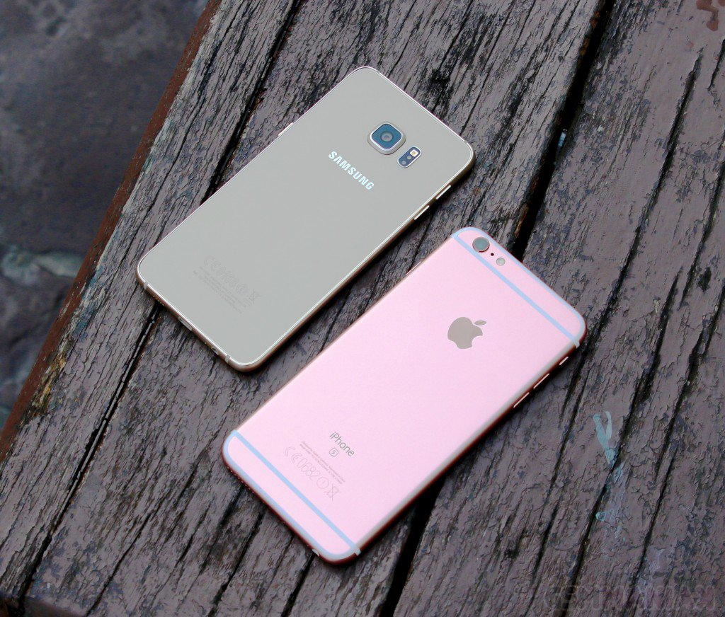 Samsung Galaxy S6 Edge+ i iPhone 6s Plus / fot. gsmManiaK.pl
