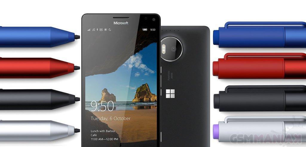 surface pen i lumia 950 XL
