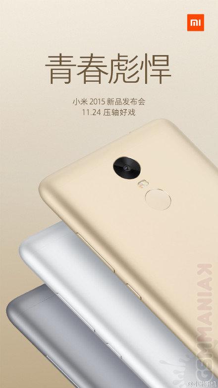 Xiaomi Redmi Note 3 / fot. weibo