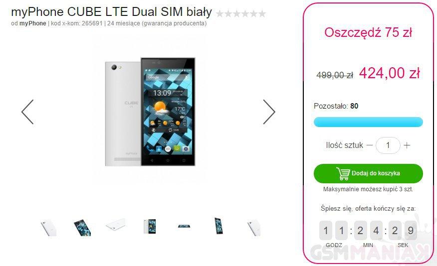 myPhone CUBE LTE Dual SIM_2