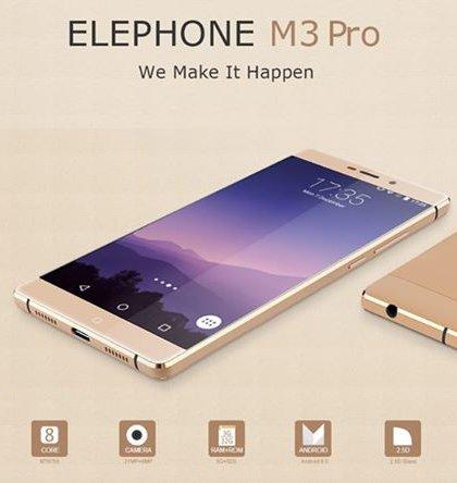 Elephone M3 Pro / fot. producenta