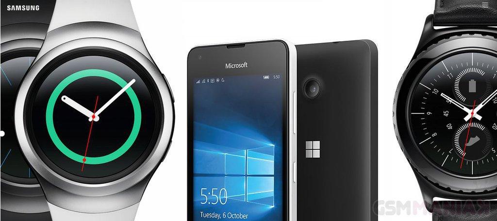 Lumia 550 GearS2 w Play