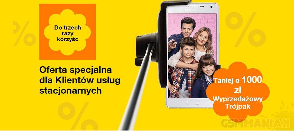zestaw smartfon Orange