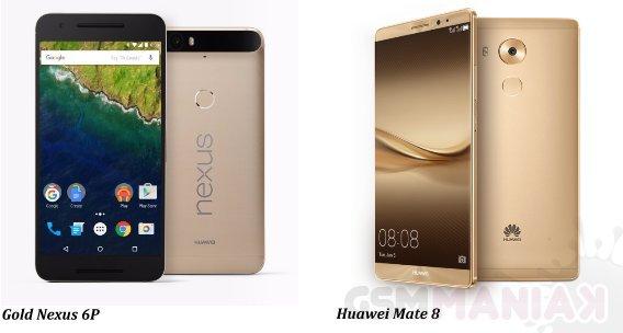 Huawei Mate 8 i nexus 6P