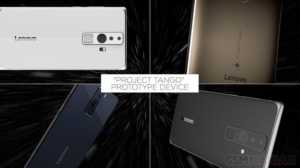 Phablet Lenovo Google Projekt Tango