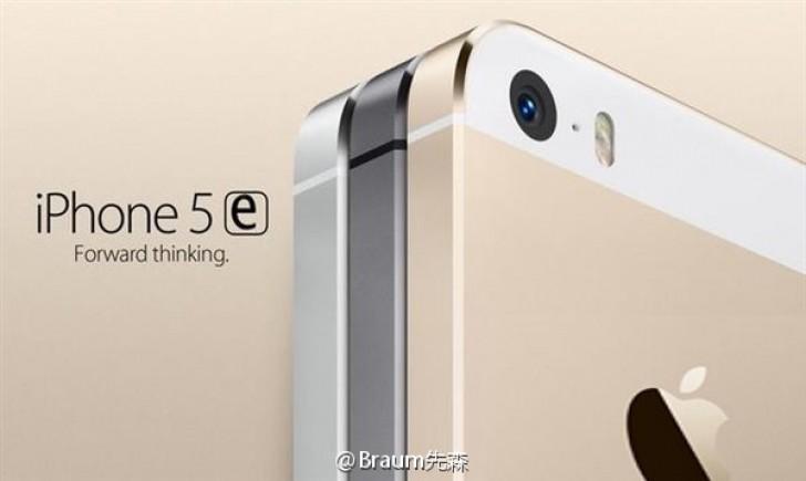 iPhone 5e ma być lepszą wersją modelu 5s / fot. Weibo