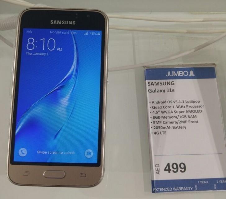 Samsung Galaxy J1 (2016) w ofercie sklepu ze ZEA / fot. GSMArena
