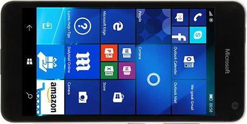 Microsoft Lumia 650 / @evleaks