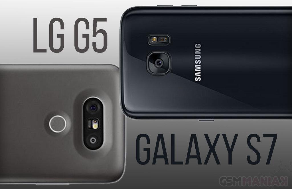LG G5, Samsung Galaxy S7