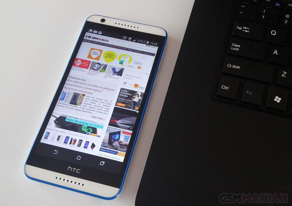 HTC Desire 820 / fot. gsmManiaK.pl