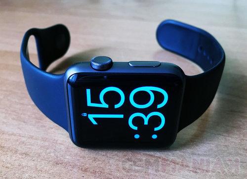 Jedna z tarcz zegarka