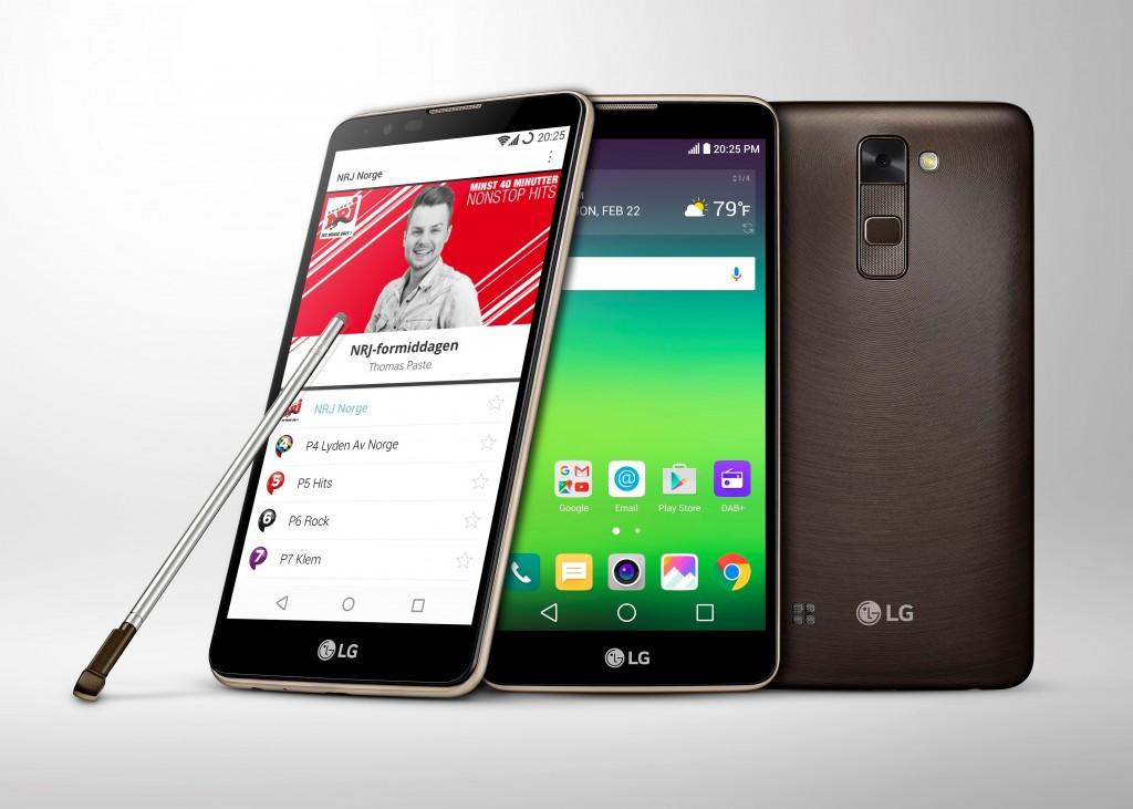 LG Stylus 2 z DAB+ / fot. LG