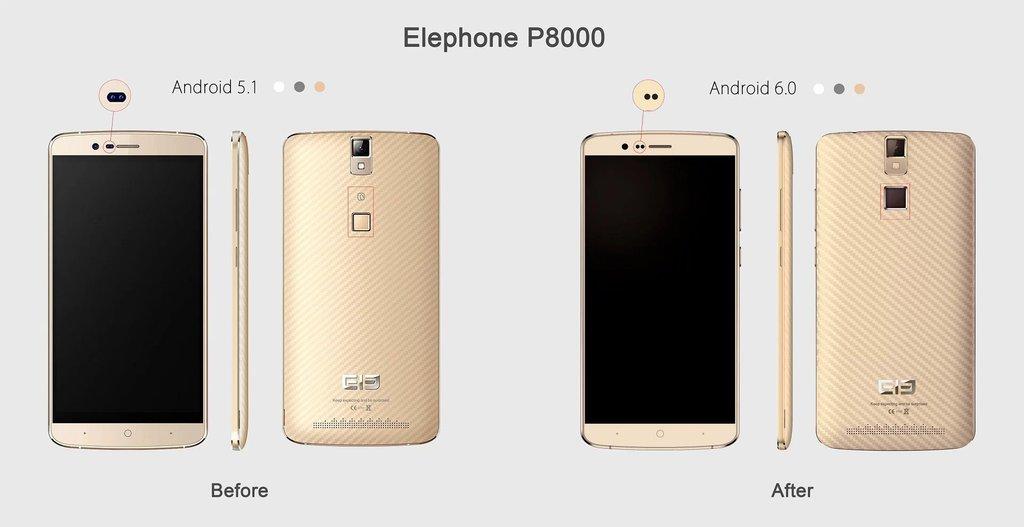 Nowy Elephone P8000