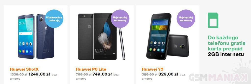 Szalony weekend Huawei