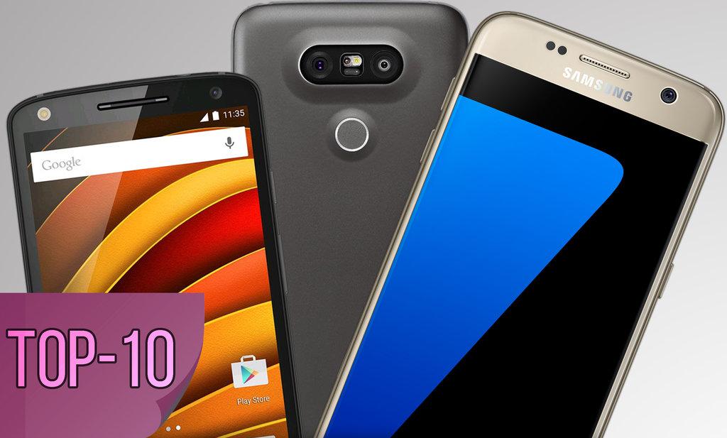 Najlepsze smartfony top10