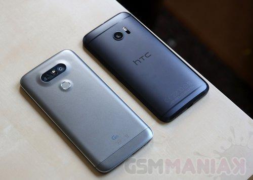 HTC 10 i LG G5 / fot.gsmManiaK.pl