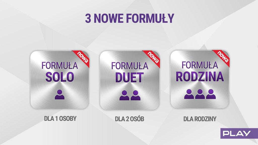 Play nowa formula