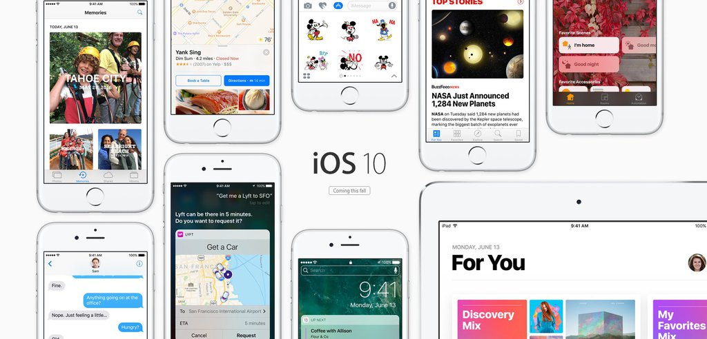 iOS 10 / fot. Apple