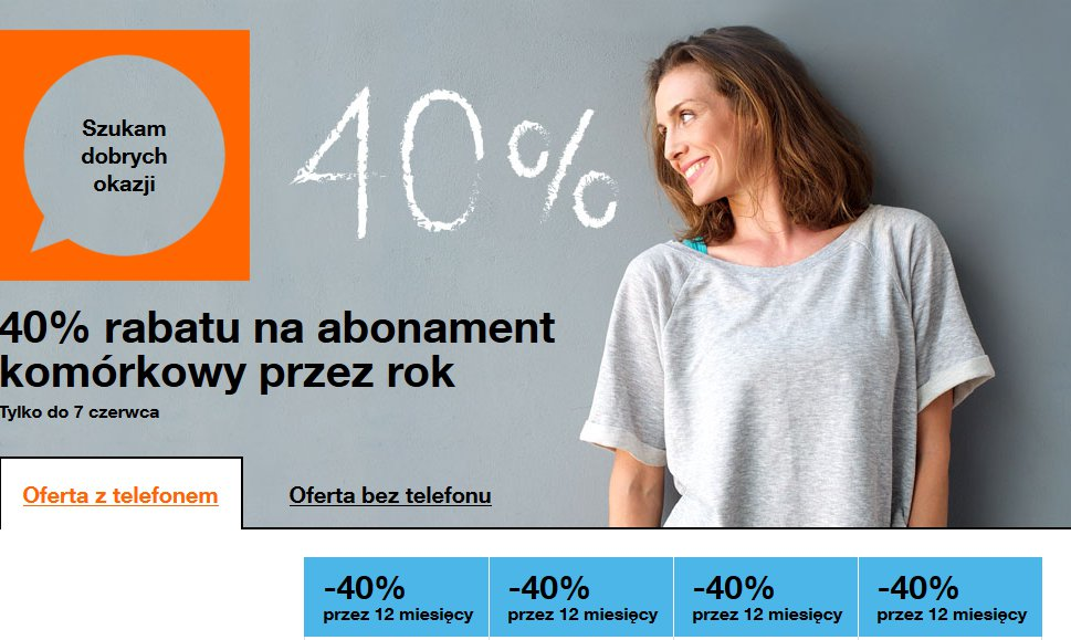 fot. printscreen za stroną Orange.pl