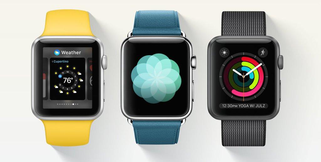 watchOS 3 / fot. Apple