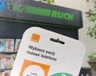 Orange: kartę prepaid zarejestrujesz w sieci RUCH