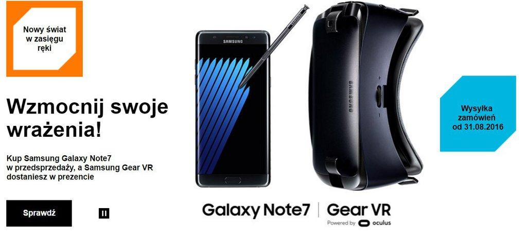 Samsung Galaxy Note 7 - Orange