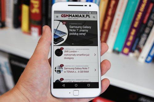 Lenovo Moto G4 Plus/fot. gsmManiaK.pl