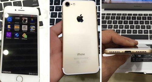 Działający prototyp iPhone'a 7 (6SE) / fot. Nowhereelse