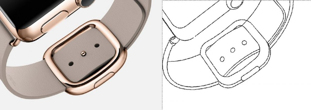 Patent Samsunga / fot. Business Insider, Apple/USPTO