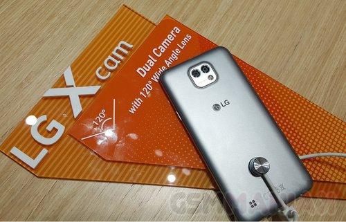 LG X cam / fot. gsmManiaK.pl