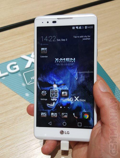 LG X max / fot. gsmManiaK.pl