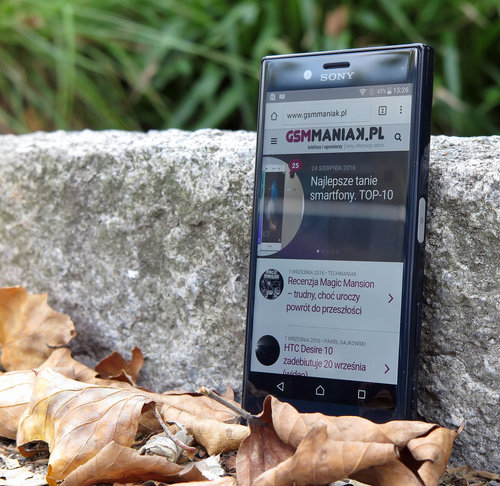 Sony Xperia X Compact / fot. gsmManiaK.pl
