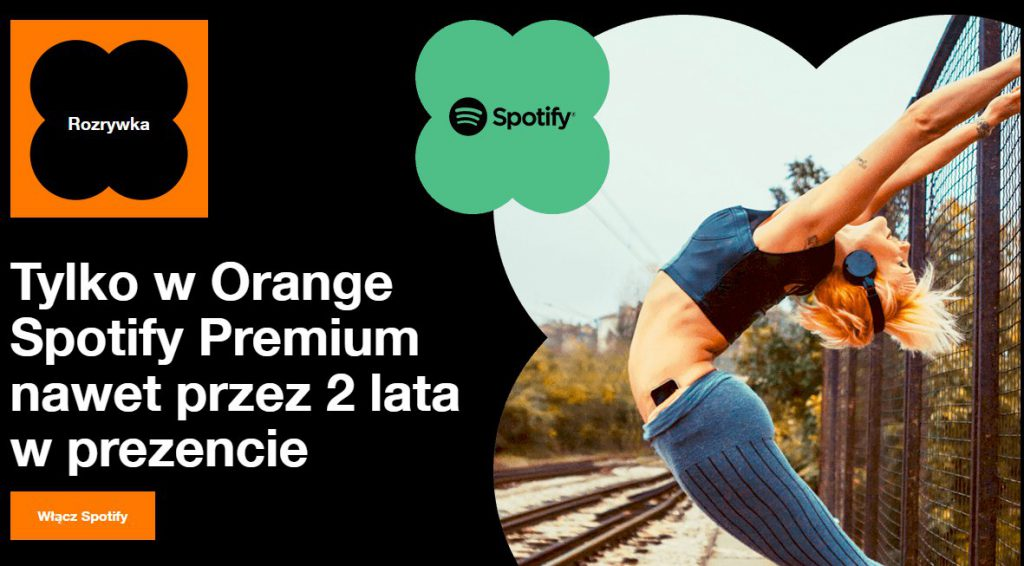 Spotify Premium w Orange