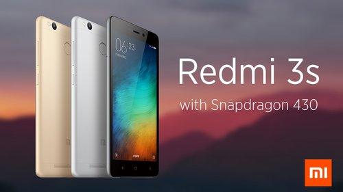 Xiaomi Redmi 3S - bestseller w ofercie Xiaomi / fot. Xiaomi