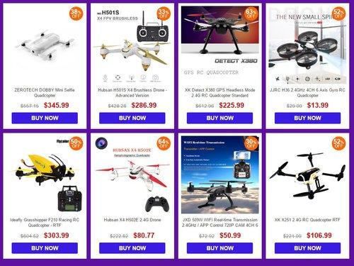 drony Gearbest