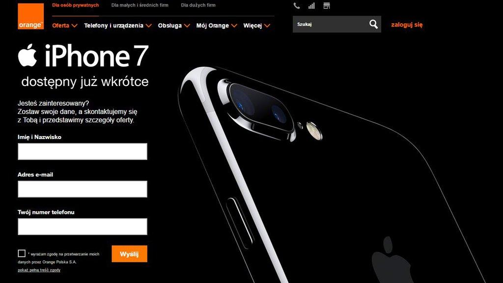 iPhone 7 Orange