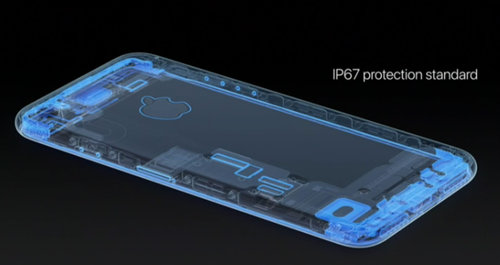 Szczelność iPhone 7 / fot. Apple