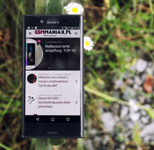 Sony Xperia X Compact/fot. gsmManiaK.pl