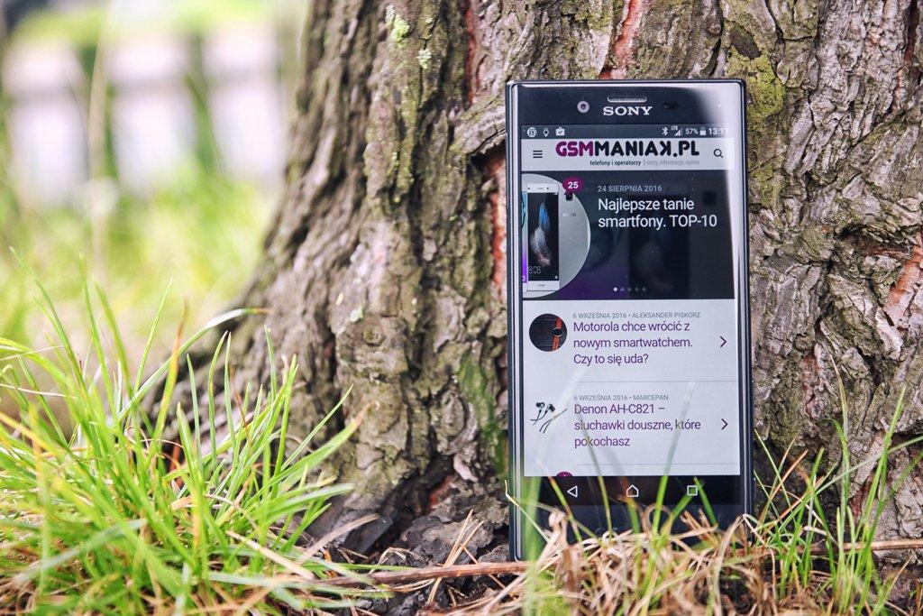 Sony Xperia X Compact - być może ostatni smartfon tej serii /fot. gsmManiaK.pl