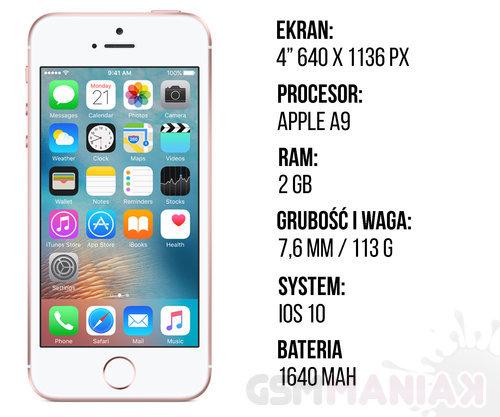 iPhone SE/ fot. gsmManiaK
