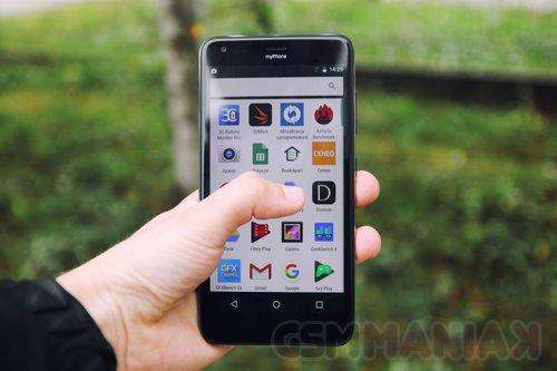 Tylko na zewnątrz Test myPhone Luna II. 5.7-calowy telefon za niespełna 700 zł DY52