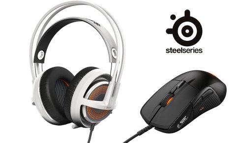 Steelseries słuchawki SIBERIA + mysz RIVAL / fot. play.pl