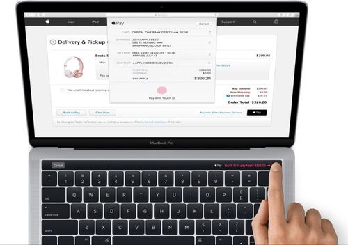 Apple MacBook Pro 13 z Touch Bar / fot. Apple