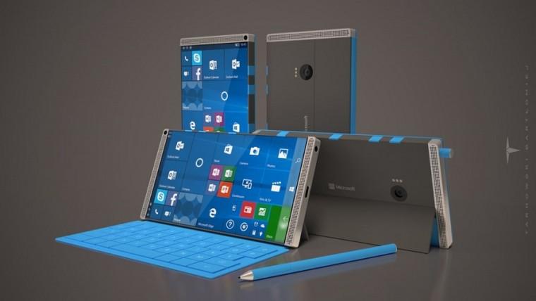 Tak mógłby wyglądać Surface Phone