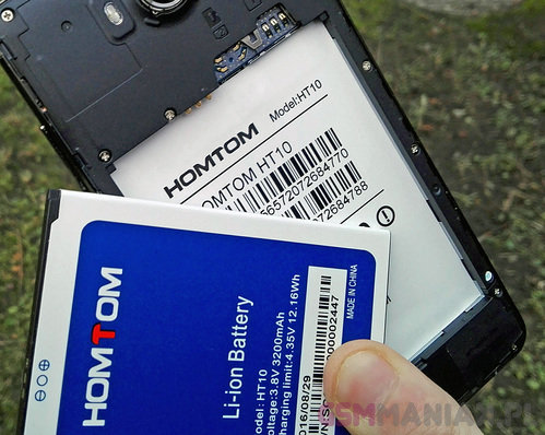 HomTom HT10 / fot. gsmManiaK.pl