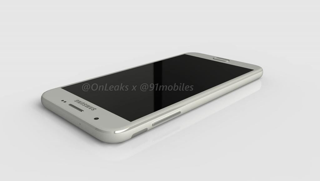 Samsung Galaxy J7 (2017) / Fot. 91mobiles i @OnLeaks