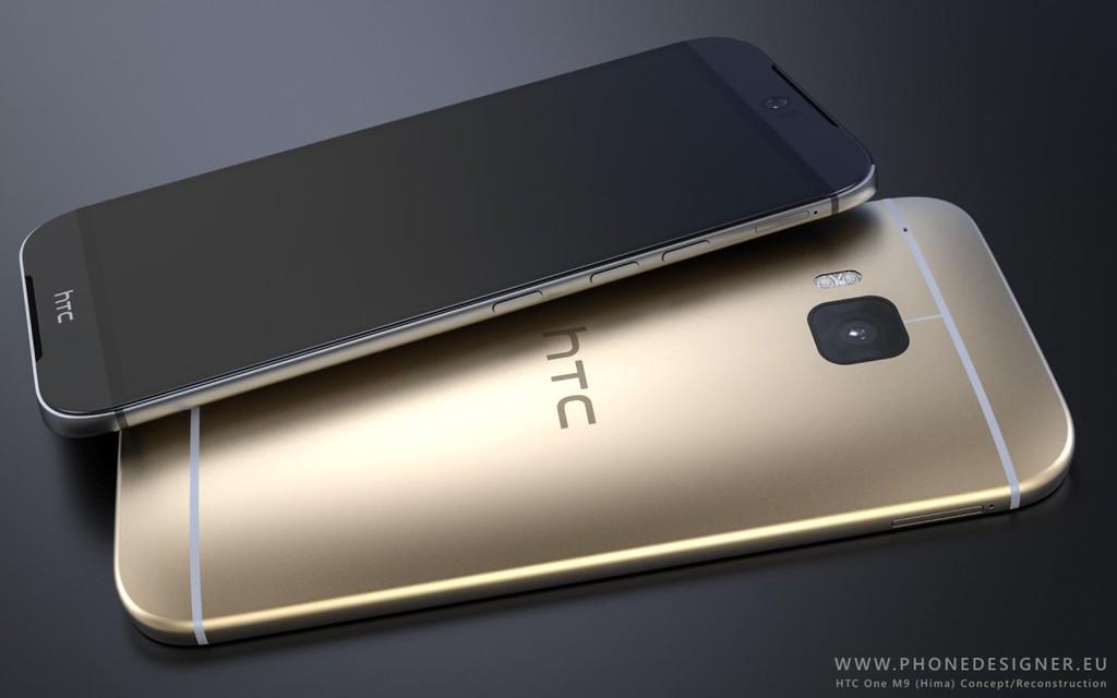 Rewelacyjny i niespełniony koncept HTC One M9 / fot. Phone Designer