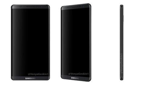 Samsung Galaxy S8 może wyglądać mniej więcej tak / fot. VenyaGeskin1
